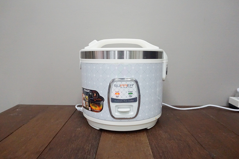 mixed rice in rice cooker 16