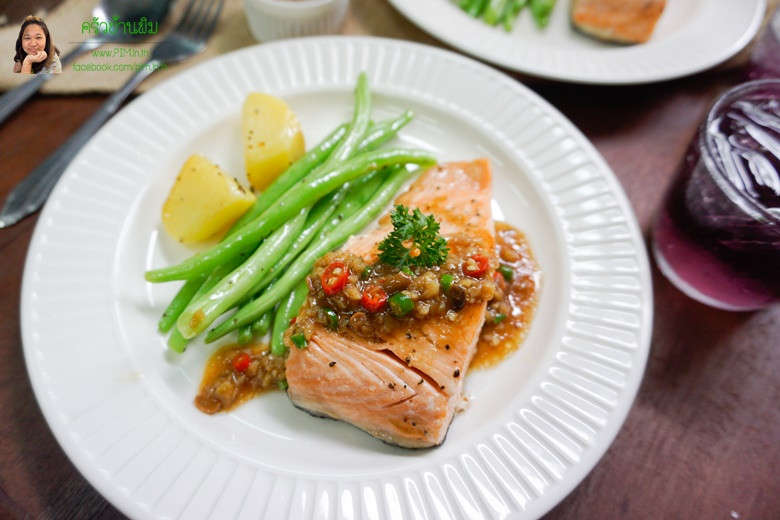 salmon steak ginger sauce 24